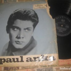 Discos de vinilo: PAUL ANKA - ¡OTRA VEZ PAUL ANKA! (LET'S SIT THIS ONE OUT) (RCA VICTOR 1962) OG ESPAÑA. Lote 194931198