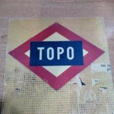 Discos de vinilo: TOPO - LP SIN TITULO - 1979 - ZAFIRO - INCLUYE ENCARTES - BUEN ESTADO - VER FOTOS . Lote 194932032