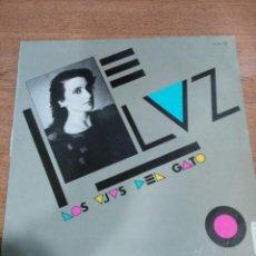 Discos de vinilo: LUZ CASAL - LOS OJOS DEL GATO - PROMOCIONAL - BUEN ESTADO - INCLUYE ENCARTES - LEER - VER FOTOS. Lote 194932578