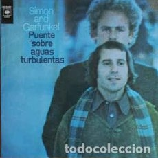 Discos de vinilo: SIMON AND GARFUNKEL – PUENTE SOBRE AGUAS TURBULENTAS - LP SPAIN 1988. Lote 194933243