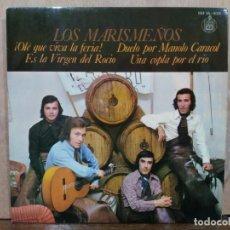 Discos de vinilo: LOS MARISMEÑOS - ¡OLÉ QUE VIVA LA FERIA!, UNA COPLA POR EL RÍO... - EP. DEL SELLO HISPAVOX 1973. Lote 194934006