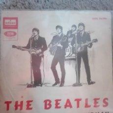 Discos de vinilo: THE BEATLES-I FEEL FINE-SHE'S A WOMAN-ORIGINAL ESPAÑOL 1964-VINILO Y PORTADA EN MUY BUEN ESTADO. Lote 194934186