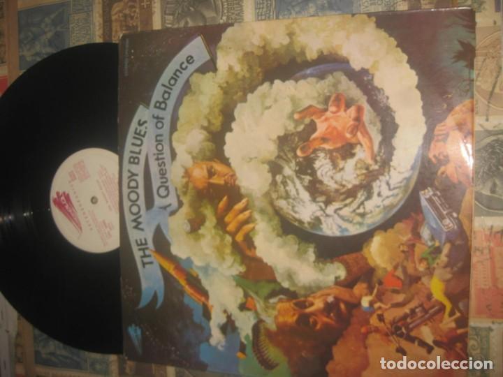 THE MOODY BLUES - A QUESTION OF BALANCE (THRESHOLD 1970) ORIGINAL ESPAÑA (Música - Discos - LP Vinilo - Pop - Rock - Internacional de los 70)