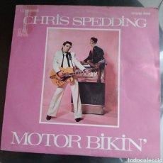 Discos de vinilo: CHRIS SPEDDING - MOTOR BIKIN'. Lote 194934446