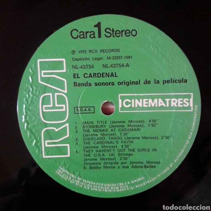 Discos de vinilo: EL CARDENAL (THE CARDINAL) JEROME MOROSS - Foto 3 - 194935077