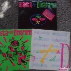 Discos de vinilo: ALASKA Y DINARAMA-FAN FATAL-ORIGINAL ESPAÑOL-LP+MAXI SINGLE QUIERO SER SANTA-EN MUY BUEN ESTADO. Lote 194935832