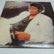 Discos de vinilo: MICHAEL JACKSON – THRILLER--EDICION ESPAÑOLA EN GATEFOLD--1982. Lote 194936310