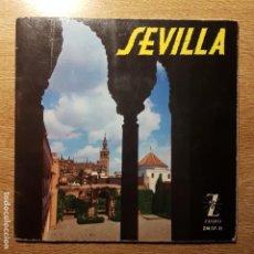 Discos de vinilo: EP SEVILLA. CONCHITA BAUTISTA, MIGUEL DE LOS REYES, AREVALILLO, SABICAS, CASTELLÓN, ENRIQUE MONTOYA. Lote 194938537