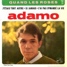 Discos de vinilo: AQDAMO - QUAND LES ROSES + 3 TEMAS - EP FRANCE 1964. Lote 194939063