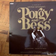 Discos de vinilo: GEORGE GERSHWIN, IRA GERSHWIN, DUBOSE HEYWARD – PORGY AND BESS SELLO: RCA RED SEAL – RL 42412 . Lote 194939116