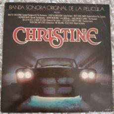 Discos de vinilo: LP CHRISTINE BANDA SONORA. BSO. ROCK.. Lote 194939863