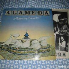 Discos de vinilo: LP ALAMEDA - MISTERIOSO MANANTIAL (EPIC, 1980). SOLO FUNDA. Lote 194939983