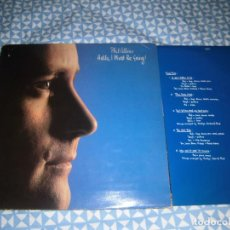 Discos de vinilo: LP PHIL COLLINS - HELLO, I MUST BE GOING (WEA, 1982). SOLO FUNDA.. Lote 194940090