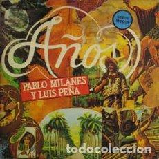 Discos de vinilo: PABLO MILANES Y LUIS PEÑA - AÑOS - LP ARIOLA SPAIN 1985. Lote 194940313