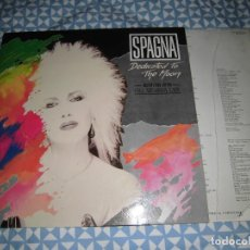 Discos de vinilo: LP SPAGNA - DEDICATED TO THE MOON (CBS, 1987) SOLO CARPETA. Lote 194940327