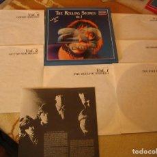 Discos de vinilo: THE ROLLING STONES CAJA 6 LPS 20 YEARS VOL. 1 DECCA ESPAÑA 1982. Lote 194940917