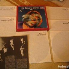 Discos de vinilo: THE ROLLING STONES CAJA 6 LPS 20 YEARS VOL. 2 DECCA ESPAÑA 1982. Lote 194941117