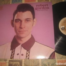 Discos de vinilo: ROBERT GORDON WITH LINK WRAY (PRIVATE STOCK 1977) ORIGINAL ENGLAND EXCELENTE CONDICION. Lote 194941358