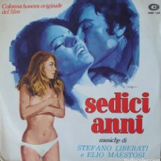 Discos de vinilo: BANDA SONORA DE LA PELÍCULA SEDICI ANNI SINGLE SELLO CAM EDITADO EN ITALIA. Lote 194941661