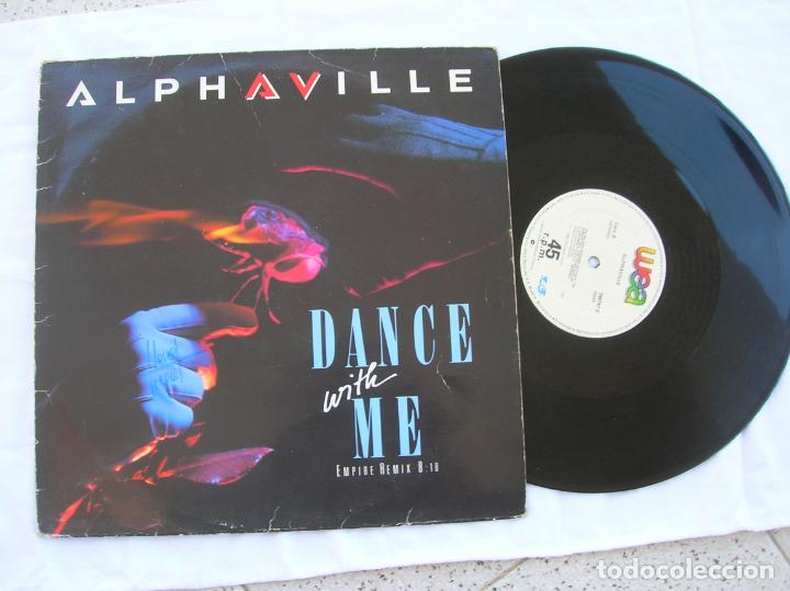 DISCO DEL GRUPO ALPHAVILLE MAXI ,DANCE WITH ME ,1986 (Música - Discos de Vinilo - Maxi Singles - Disco y Dance)
