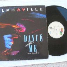 Discos de vinilo: DISCO DEL GRUPO ALPHAVILLE MAXI ,DANCE WITH ME ,1986. Lote 194941791