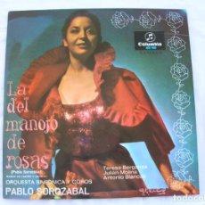 Discos de vinilo: LP DE LA ORQUESTA SINFONICA Y COROS PABLO SOLOZABAL. Lote 194942385