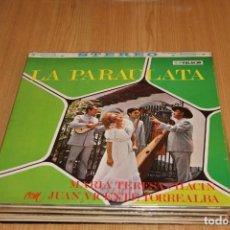 Discos de vinilo: MARIA TERESA CHACIN CON JUAN VICENTE TORREALBA - LA PARAULATA - PALACIO LPS-66278 - 1970. Lote 194942588