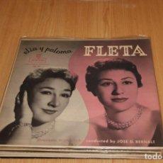 Discos de vinilo: ELIA Y PALOMA FLETA - ELIA Y PALOMA FLETA - MONTILLA FM 91 - 1958 - EDICIÓN USA. Lote 194942872