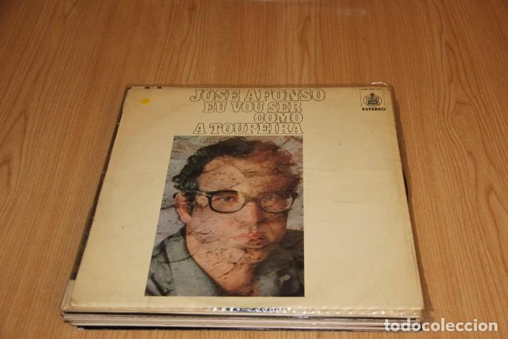 JOSÉ AFONSO - EU VOU SER COMO A TOUPEIRA - HISPAVOX HXS-001-43 - 1976 (Música - Discos - LP Vinilo - Cantautores Extranjeros)