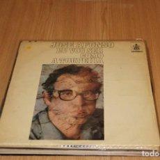 Discos de vinilo: JOSÉ AFONSO - EU VOU SER COMO A TOUPEIRA - HISPAVOX HXS-001-43 - 1976. Lote 194943105
