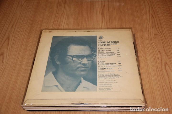 Discos de vinilo: José Afonso - Eu Vou Ser Como A Toupeira - Hispavox HXS-001-43 - 1976 - Foto 2 - 194943105