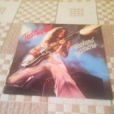 Discos de vinilo: TED NUGENT. WEEKEND WARRIORS. EPIC EPC 83036. ESPAÑA 1979.. Lote 194943570