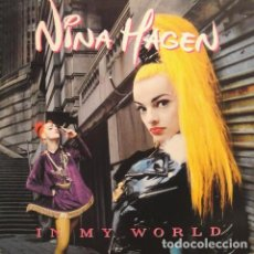 Discos de vinilo: NINA HAGEN - IN MY WORLD - MAXI-SINGLE GERMANY 1991. Lote 194944047