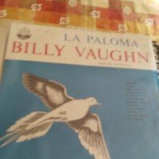 Discos de vinilo: BILLY VAUGHN LA PALPMA. Lote 194945731