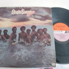 Discos de vinilo: ANGLO SAXON BROWN-LP SONGS FOR EVOLUTION-ESPAÑOL 1976 . Lote 194946358