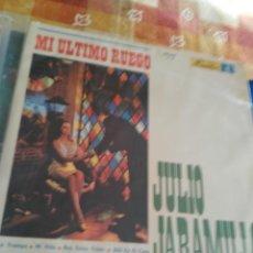 Discos de vinilo: JULIO JARAMILLO MI ULTIMO RUEGO. Lote 194946797