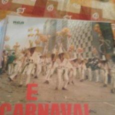 Discos de vinilo: E CARNAVAL. Lote 194949277