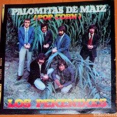 Discos de vinilo: SINGLE VINILO. LOS PEKENIKES. CARA A: PALOMITAS DE MAIZ. CARA B: POLUCIÓN.. Lote 194951608