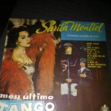 Discos de vinilo: SARITA MONTIEL MEU ULTIMO TANGO 1960 BRASIL. Lote 194952725