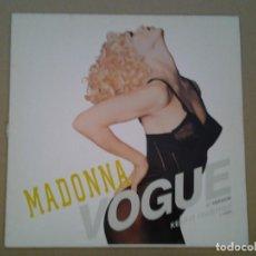 Discos de vinilo: MADONNA -VOGUE- MAXI-SINGLE 45RPM ED. ALEMANA SIRE 1990 7599-21525-0 BUENAS CONDICIONES. Lote 194953553