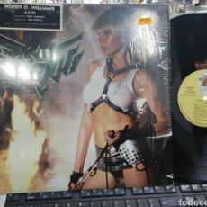 Discos de vinilo: WENDY O. WILLIAMS LP WOW U.S.A. 1984. Lote 194953596