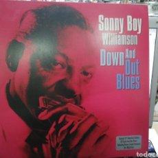 Discos de vinilo: SONNY BOY WILLIAMSON DOBLE LP DOWN AND OUT BLUES 2011. Lote 194956388