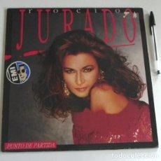 Discos de vinilo: ROCÍO JURADO PUNTO DE PARTIDA DISCO VINILO LP CANTANTE ANDALUZA ESPAÑOLA LETRAS DE JUAN PARDO MÚSICA. Lote 194956697
