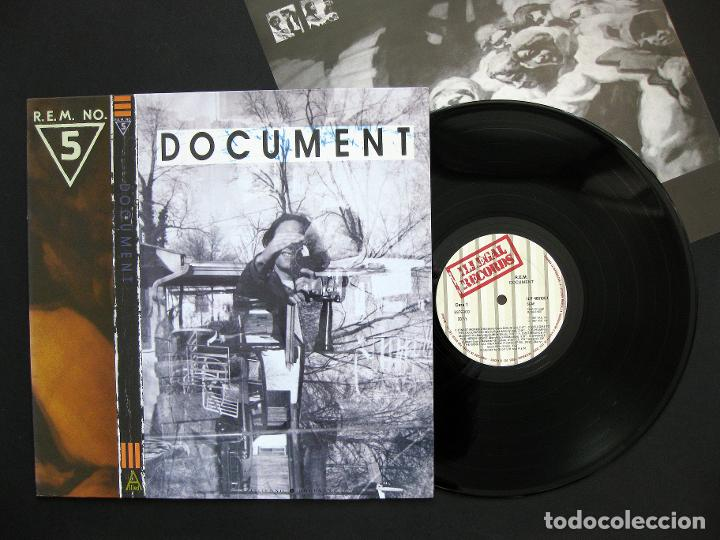 R.E.M. – DOCUMENT – VINILO 1987 (Música - Discos - LP Vinilo - Pop - Rock - New Wave Extranjero de los 80)