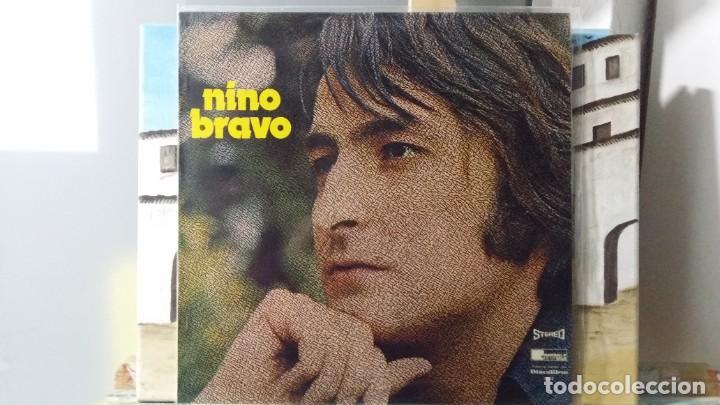 ** NINO BRAVO - UN BESO Y UNA FLOR - LP 1973 (3º ÁLBUM DEL CANTANTE) - LEER DESCRIPCIÓN (Música - Discos - LP Vinilo - Pop - Rock - New Wave Extranjero de los 80)