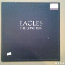 Discos de vinilo: EAGLES -THE LONG RUN- LP ASYLUM 1979 ED. INGLESA K52181 GATEFOLD SLEEVE MUY BUENAS CONDICIONES. . Lote 194957695