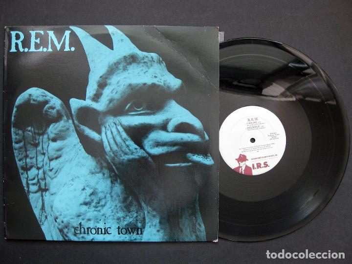 R.E.M. – CHRONIC TOWN – VINILO 1982 (Música - Discos - LP Vinilo - Pop - Rock - New Wave Extranjero de los 80)