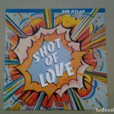 Discos de vinilo: BOB DYLAN - SHOT OF LOVE- LP CBS 1981 ED. ESPAÑOLA S 85178 EN MUY BUENAS CONDICIONES Y MUY POCO USO.. Lote 194958783