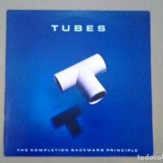 Discos de vinilo: TUBES -THE COMPLETION BACKWARD PRINCIPLE- LP CAPITOL 1981 ED. ESPAÑOLA 10C 064-400.009 MUY BUENAS CO. Lote 194959507