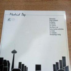 Discos de vinilo: MADRID POP - 2 LP RECOPILATORIO VARIOS GRUPOS - CARPETA ABIERTA - BUEN ESTADO - VER FOTOS - LEER . Lote 194959682